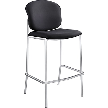 Safco® 4195 Fabric Diaz Bistro Chair, Black
