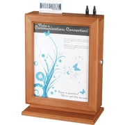 Safco® 4236 Suggestion Box, Cherry
