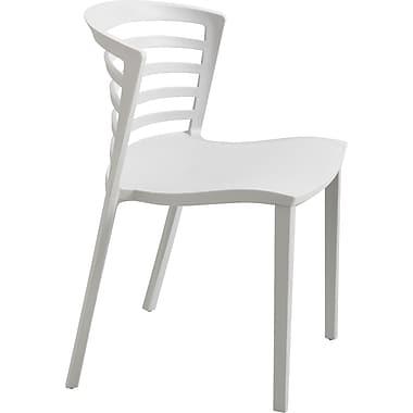 Safco® Entourage™ 4359 Entourage Stacking Chair, Gray