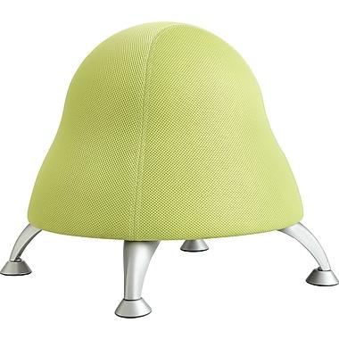 Safco Runtz Fabric Ball Office Chair, Armless, Sour Apple (4755GS)