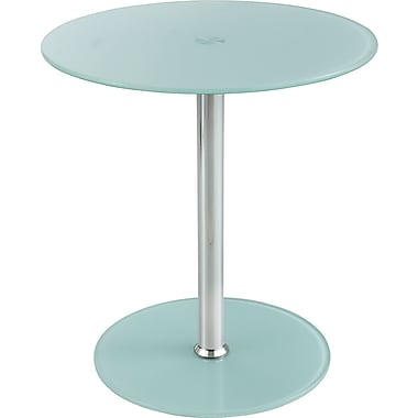 Safco® 5095 Glass Accent Table, White