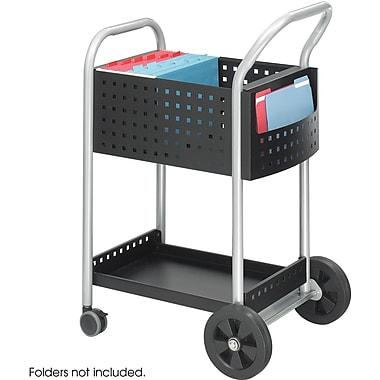 SafcoMD – 5238 Chariot pour courrier, largeur de 20 po, en acier noir