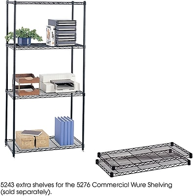 Safco® 5243 Steel Commercial Extra Shelf Pack, 36