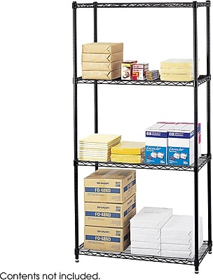 Safco® 5276 Steel Commercial Wire Shelving, 36