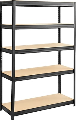 Safco® 6246 Boltless Steel and Particleboard Shelving, 48