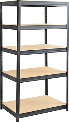 Safco® 6247 Boltless Steel and Particleboard Shelving, 36
