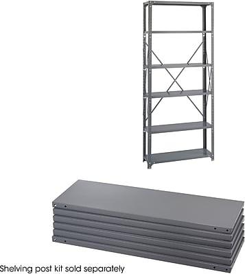 Safco® 6250 Steel Industrial Shelf Pack, 36