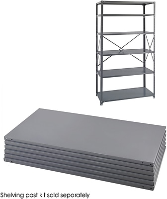 Safco® 6254 Steel Industrial Shelf Pack, 36