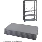 "Safco® 6255 Steel Industrial Shelf Pack, 48""(W) x 24""(D), Gray"