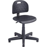 Safco Aviator Plastic Computer and Desk Office Chair, Armless, Black (XX6900)