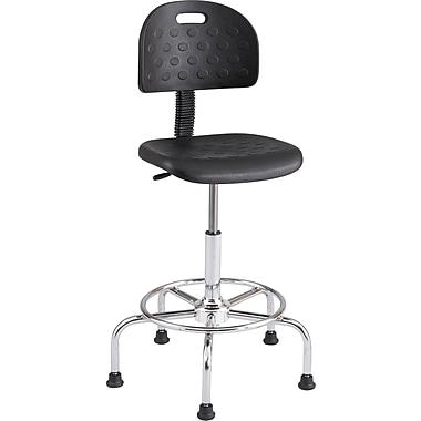 Safco® WorkFit™ 6950 Polyurethane Economy Industrial Chair, Black