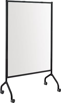 Safco® Impromptu® 8511 Full Whiteboard Screen, Black