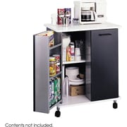 Safco® 8963 Refreshment Stand, Black