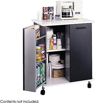 Safco® 8963 Refreshment Stand, Black