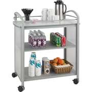 Safco® Impromptu® 8967 Beverage Cart, Gray