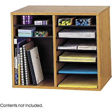 Safco® Adjustable Literature Organizer, 16