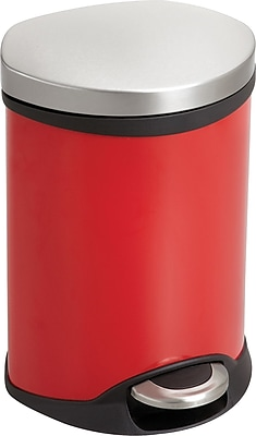 Safco® 9900 Medical Receptacle, 1.5 gal, Red