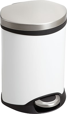 Safco® 9900 Medical Receptacle, 1.5 gal, White