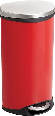 Safco® 9902 Medical Receptacle, Red, 7.5 gal.