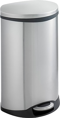 Safco® 9903 Medical Receptacle, 12.5 gal, Stainless Steel