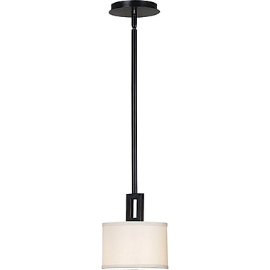 Kenroy Home Endicott 1 Light Mini Pendant, Oil Rubbed Bronze Finish