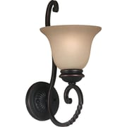 Kenroy Home Oliver 1 Light Wall Sconce, Oil Rubbed Bronze Finish