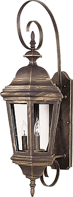 Kenroy Home Estate Large Wall Lantern, Antique Patina Finish