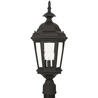Kenroy Home Estate Post Lantern, Black Finish