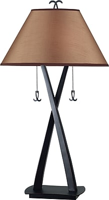 Kenroy Home Wright Table Lamp, Oil Rubbed Bronze Finish