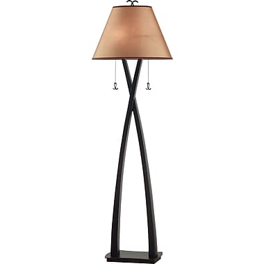 Kenroy Home Wright Floor Lamp, Oil Rubbed Bronze Finish