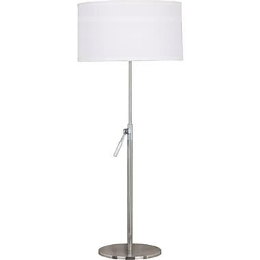 Kenroy Home Propel Table Lamp, Brushed Steel Finish