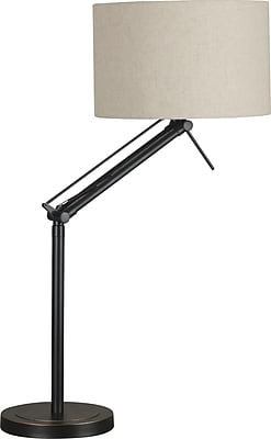 Kenroy Home Hydra Adjustable Table Lamp, Oil Rubbed Bronze Finish