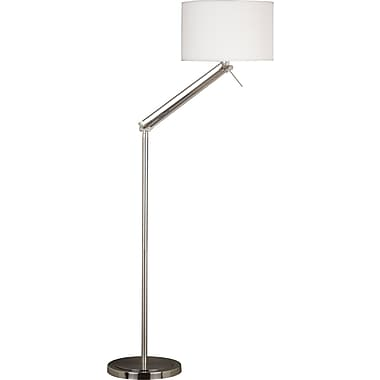 Kenroy Home Hydra Floor Lamp, Brushed Steel Finish
