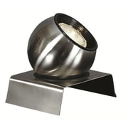 Kenroy Home Spotlight, Brushed Steel Finish