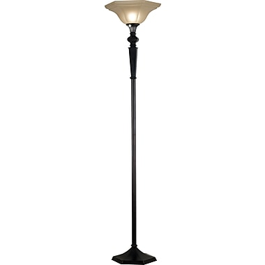 Kenroy Home Chesapeake Torchiere, Oil Rubbed Bronze Finish