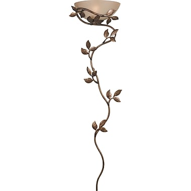 Kenroy Home Flower Vine 1 Light Wallchiere, Golden Bronze Finish