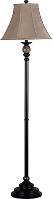 Kenroy Home Plymouth Floor Lamp, Oil Rubbed Bronze Finish