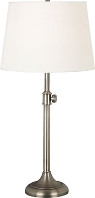 Kenroy Home Tifton Table Lamp, Vintage Brass Finish