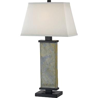 Kenroy Home Hanover Table Lamp, Natural Slate Finish