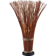 Kenroy Home Sheaf Floor Lamp, Natural Red Finish