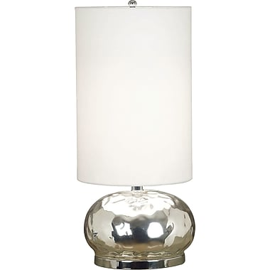 Kenroy Home Roxie Table Lamp, Mercury Glass Finish