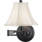 Kenroy Home Amherst Wall Swing Arm Lamp, Oil Rubbed Bronze Finish