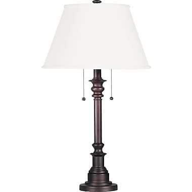Kenroy Home Spyglass Table Lamp, Bronze Finish