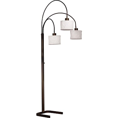 Kenroy Home Crushed Arc Lamp, Oil Rubbed Bronze Finish