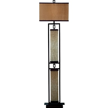 Kenroy Home Plateau Floor Lamp, Oil Rubbed Bronze Finish