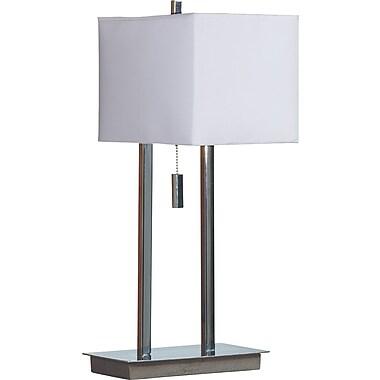 Kenroy Home Emilio Accent Lamp, Chrome Finish