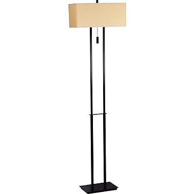 Kenroy Home Emilio Floor Lamp, Bronze Finish
