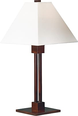 Kenroy Home Grafton Table Lamp, Bronze Finish