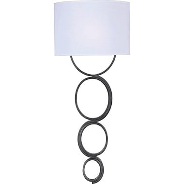 Kenroy Home Circo 1 Light Wallchiere, Weathered Steel Finish