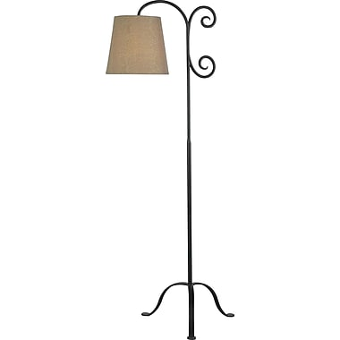 Kenroy Home Morrison Floor Lamp, Bronze Graphite Finish